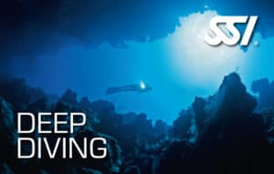 SSI Deep Diving, book