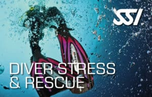 SSI Diver Stress Rescue, book,